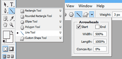 line-tool-geometri-option
